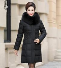 Winter Coat Women's Long Jacket Thick Down Cotton Parka Warm Mother Dress Jacket