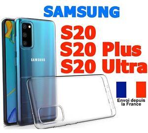 Coque Samsung Galaxy S20 S20 Plus S20 Ultra Etui HouseTransparent Silicone