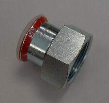 GEBERIT Mapress 21811 Übergangsstück 35mm x R1 1/4 IG C-Stahl Fitting unbenutzt