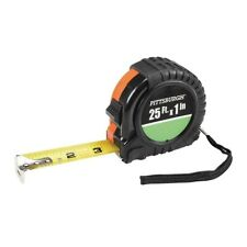 PITTSBURGH 25 Ft. X 1 In. QuikFind Tape Measure With ABS Casing new with box