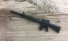 M-16 Rifle Novelty Ink Pen 223 5.56 Assault Military Army Black Green, LOT OF 10