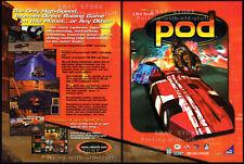 POD / 3Dfx__Original 1997 print AD / game promo__Ubi Soft  advertisement__Win 95