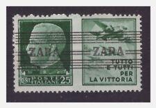 ZARA  1943  PROPAGANDA  -  CENTESIMI 25  -   NUOVO **