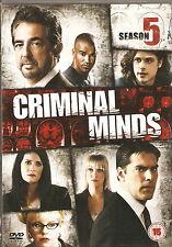 CRIMINAL MINDS - Series 5. Thomas Gibson, Joe Mantegna (6xDVD SLIM BOX SET 2011)