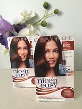 X2 Nice 'n Easy Permanent Color #5RB / 119B Born Red Natural Medium Brown