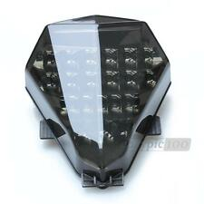 Integrated LED Tail Light Signal Sequential for Yamaha YZF R6 2006-2007 Smoke