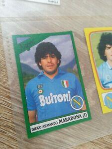 Album Figurine Calciatori Panini 1987 88 Maradona Napoli  N 180 Nuova Con Velina