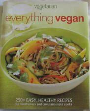 Everything Vegan by Vegetarian Times Magazine (Hardback, 2010)