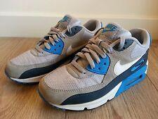 Nike Air Max 90 Trainers UK 5.5 EU 38.5 Men Women Boy Girl Grey Sneakers Used