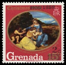 """GRENADA 341 (SG363) - Christmas """"Madonna and Child"""" by Titian (pf7414)"""