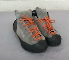 Scarpa Gray Suede Leather Rock Climbing Shoes 27cm Sole Us Men's 9(?) Great