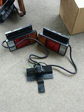 car truck lighting lamps for isuzu npr set1 new take off isuzu pair l r tail lights npr nqr wiring harness bracket
