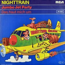 "7"" NIGHTTRAIN ex THE SHOCS Jumbo Jet Party / Das haut mich um RCA 1982 Neuwertig"