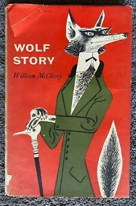 1961 WOLF STORY William McCleery fairy tale w 21 Illustrations free EXPRESS AU
