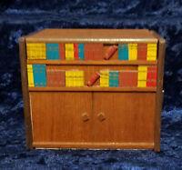 Wood Cigarette Dispenser Box Wooden Musical Handmade Tobacco Holder