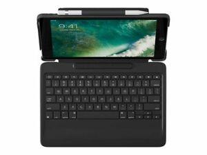 Logitech Slim Combo Case Bluetooth Backlit Keyboard for iPad Pro 10.5 Inch Black