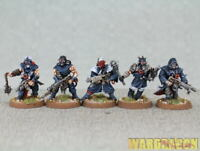 25mm Warhammer 40K WDS painted Chaos Space Marines Cultists k89