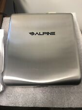 Alpine Industries Willow Stainless Steel High Speed Commercial Hand Dryer ADA