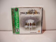 Final Fantasy Tactics Playstation PsOne PS1 Sony US