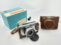 Soviet Film Camera Zorki 10 with Rangerfinder & Lens Industar-63 2,8  USSR 1970s