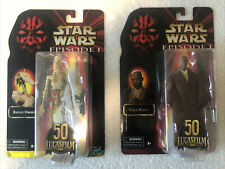 Star Wars Black Series 50th Anniversary Lot of 2 Figures Mace Windu & Droid