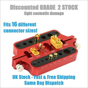 Soldering Jig Deans T Mini-T XT60 XT90 EC3 EC5 2-10mm Bullet Plugs GRADE 2 STOCK