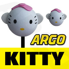 CUTE HELLO KITTY CHILDREN KIDS BEE STING AERIAL ANTENNA TOPPER BALL TOY CAR PEN
