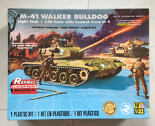 REVELL / RENWAL 1/32 US ARMY M-41 WALKER BULLDOG TANK MODEL KIT ITEM 85-7814 F/S