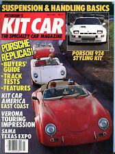 Kit Car Magazine July 1985 Porsche 924 Buyers' Guide EX 012616jhe