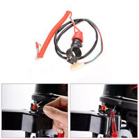 Emergency Kill Stop Outboard Engine Switch Push Button Motorcycle Dirt Bik EO