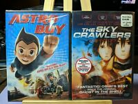 Astro Boy and The Sky Crawlers Animation DVD Lot of 2 New Sealed Japanese Anime