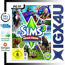 Die Sims 3 Einfach tierisch / Sims 3 Pets Addon EA ORIGIN Download Code [PC][DE]