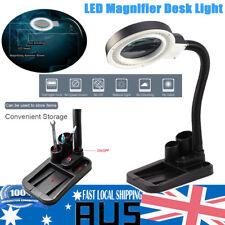 40LED 5X 10X Magnifier Desk Light Precision Read Nail Art Tattoo Magnifying Lamp