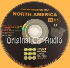 Toyota Lexus Navigation Map DVD Disc 86271-73011 DATA Version 09.1 U91