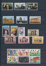 XC08351 Anguilla mixed thematics fine lot MNH
