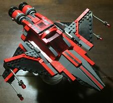 Custom Lego Star Wars Old Republic Sith Lord Fighter with Twi Lek Sith Lord!
