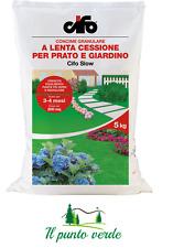 CIFO SLOW CONCIME GRANULARE PER PRATO E GIARDINO A LENTA CESSIONE KG.5