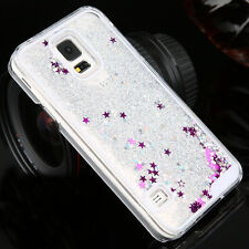 Luxury Glitter Star Liquid Back Phone Case Cover for Samsung Galaxy S4/5/6/6Edge
