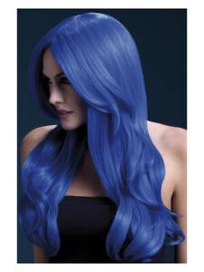 Fever Khloe Wig, Neon Blue