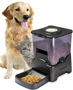 Automatic Pet Feeder Dog Cat Programmable Animal Food Bowl Auto Dispenser