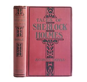 Tales of Sherlock Holmes by Arthur Conan Doyle Antique 1911-1915 Theater Edition