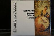 Telemann - Quatuors Parisiens / Freiburger BarockConsort