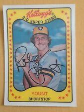 1981 Kellogg  #57 Robin Yount  NM