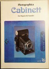 Photographica cabinett 16 IMAX 3d Voigtländer CLS Zett 150 leidolf nadar nasa