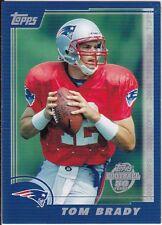 TOM BRADY Topps ROOKIE Throwbacks DRAFT PICK INSERT CARD NFL Football PATRIOTS