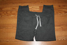 NWT Mens NAUTICA Charcoal Gray Exercise Fleece Tapered Leg Sweat Pants XL