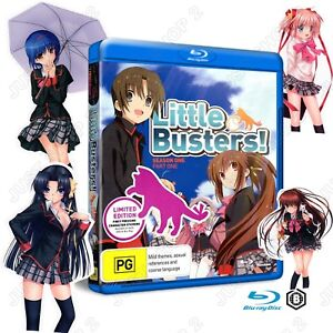 Little Busters Blu-ray : Season 1  - Part 1 : Anime : Brand New 2 Disc Set