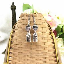Wine Earrings Wine bottle Charm wine glass Dangle Earrings Wine Lover Gifts