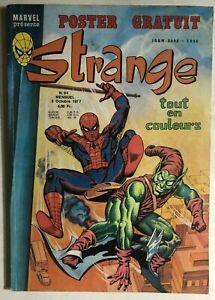 STRANGE #94 French color Marvel comic (1977) Iron Man Green Goblin Spidey DD VG+