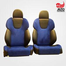 2 orthopäd. Recaro Style Klimapaket Leder SLK Sitze Top Mercedes neu bezogen